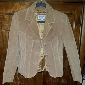 Wilsons Leather Maxima Suede Jacket size small